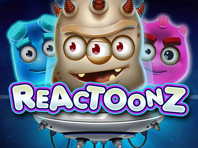Прибыльный игровой онлайн-автомат Reactoonz